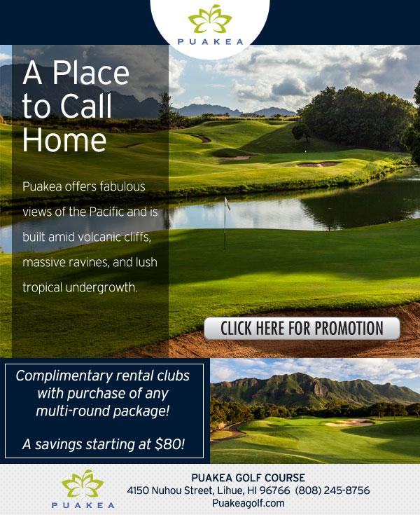 Puakea Southland Golf Ad