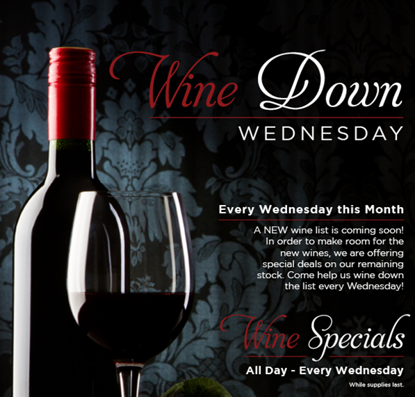 Wine Wednesdays St. Johns Golf & Country Club