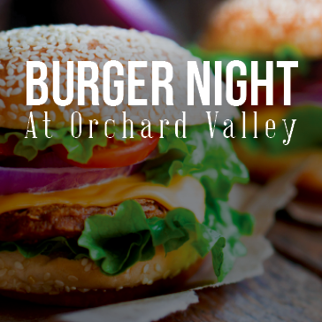 Burger Night at a Orchard Valley Golf Course Grill & Pub