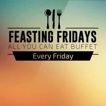 Feasting Fridays Buffet at a Billy Casper Golf Course