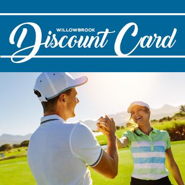 Willowbrook Golf Course Discount Card