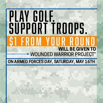 $1 From Every Round Donated to WWP on Saturday, May 16th