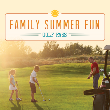 Summer Fun Pass at Harry Semrow and Chick Evans Golf Course