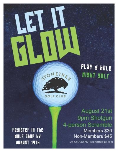 Glow Golf 400 pixels