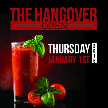 Hangover Open Web banne for event Ocala Golf Club Florida
