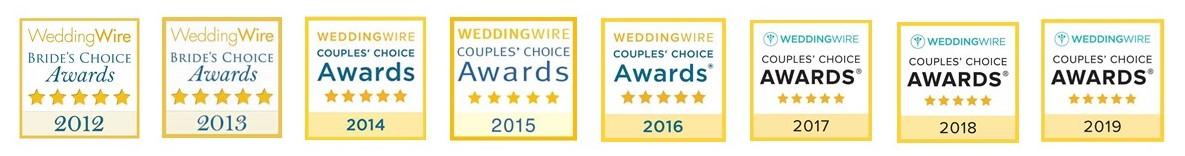 1757 Weddingwire Awards