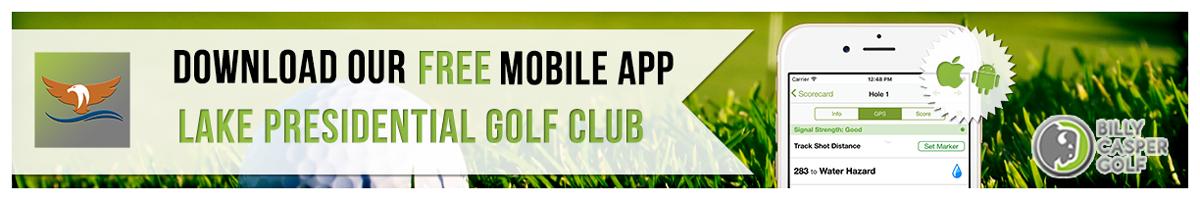 Lake Presidential Golf App