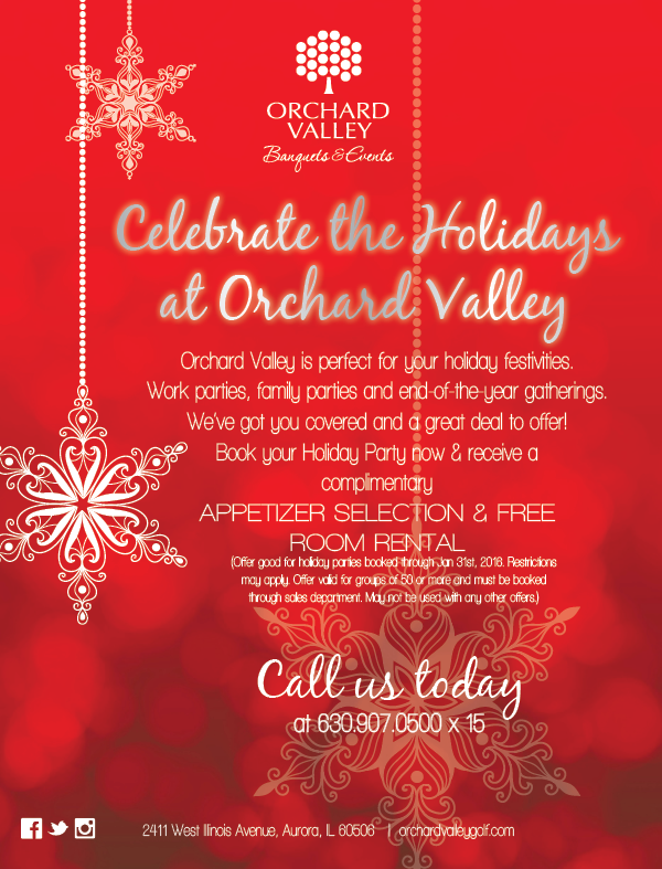 Orchard Valley Golf Course Banquets and Events