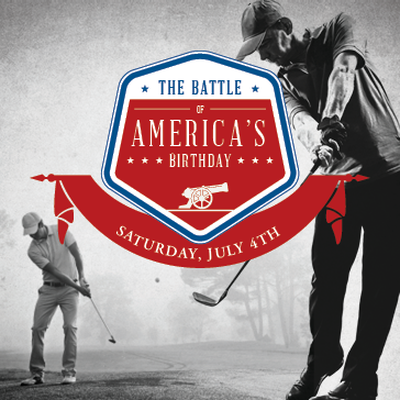 The Battle of America's Birthday Golf Tournament at Centennial Golf Course in Knoxville, TN