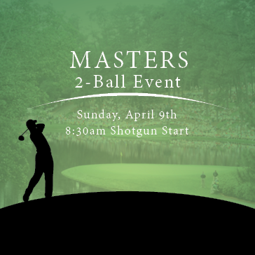 Masters 2 Ball Golf Tournament at RedGate Golf Course