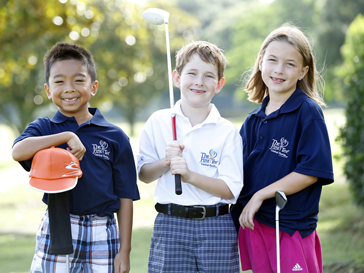 Junior Golf Kids - First Tee Students