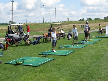 SL Driving Range with Kids