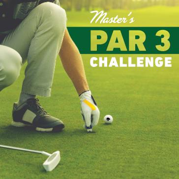 Master's Par 3 Challenge at a Billy Casper Golf Course