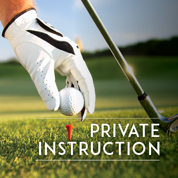 Private Instruction - Golf