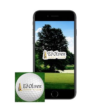 Ed Oliver Golf App - home page banner