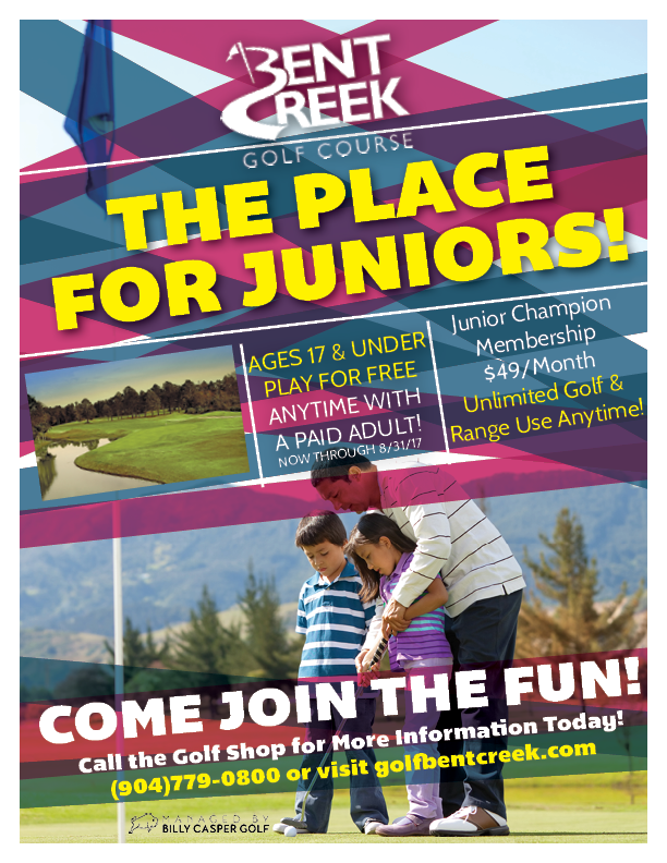 Junior Golf Bent Creek