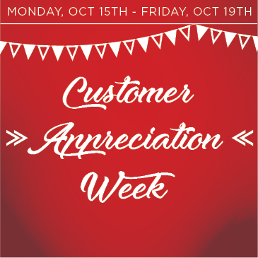 2018 Customer Appreciation Week at Water's Edge Golf Course in Worth, Illinois