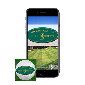 App Phone with Icon Web Banner at Oxford Greens
