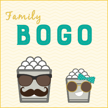Family BOGO Buckets