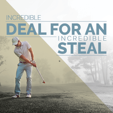 Golfer Deal for a Steal Membership