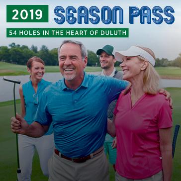 2019 Seasonal Membership | Duluth Golf | Duluth, MN