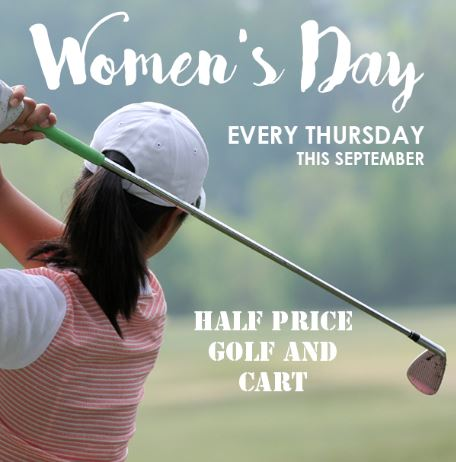 Burnham Woods womens golf in sept
