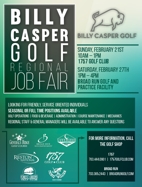 2016 Billy Casper Golf Job Fair NoVA