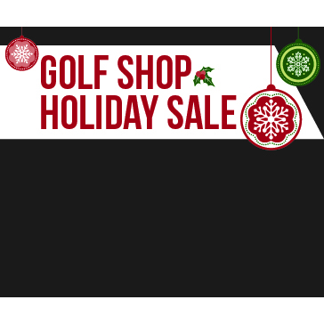 Lincoln Hills Golf Shop Holiday Sale