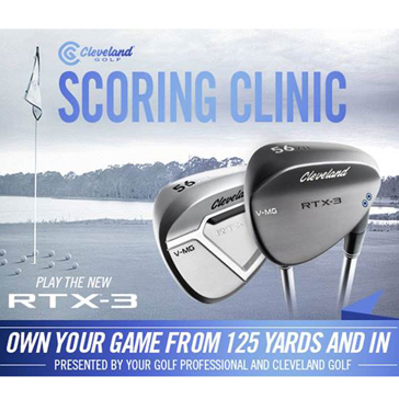 Cleveland Wedge Clinic at George Dunne National Golf Course