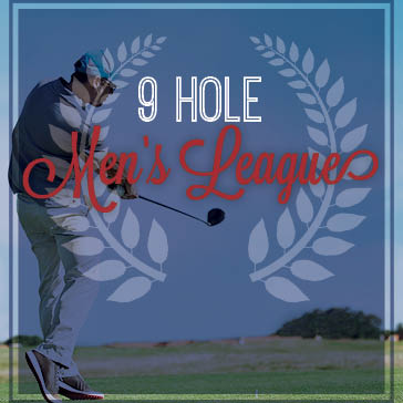 Men's 9 Hole League at Orchard Valley Golf Course