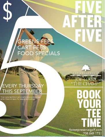 5 after 5 sept special at joe louis