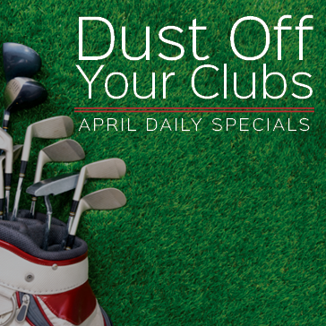 Dust off your clubs
