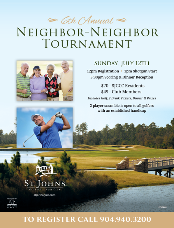 Neighbor-Neighbor Tournament St. Johns Golf & Country Club