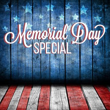 Memorial Day Special at Brea Creek