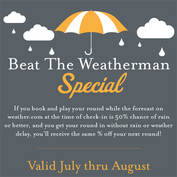 Beat the Weatherman Special