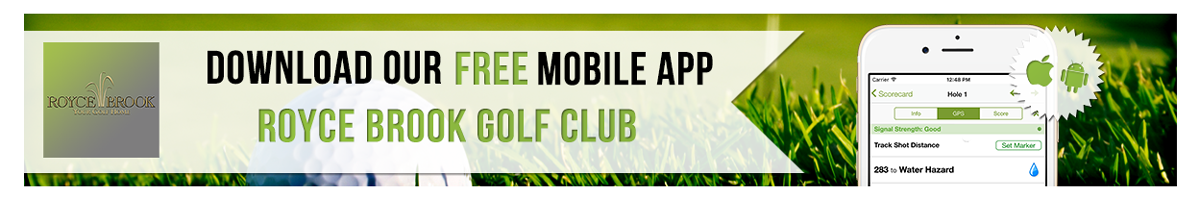 Royce Brook Golf App