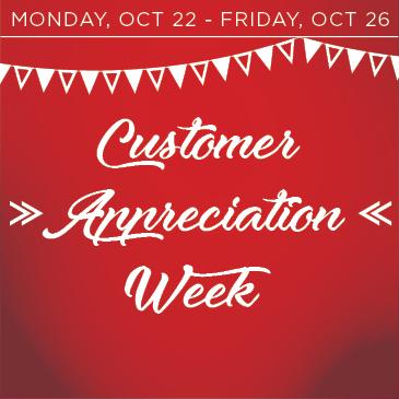 2018 Customer Appreciation Week at Whisper Creek Golf Club in Huntley, Illinois