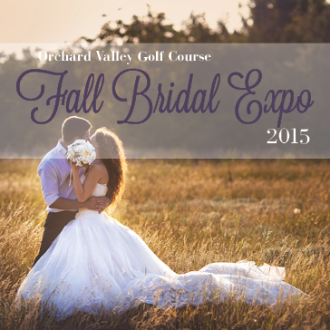 Fall Bridal Expo at Orchard Valley Golf Course