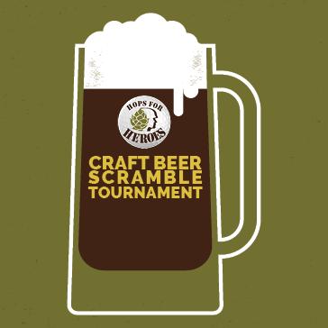 Craft Beer Scramble golf event at Hilltop