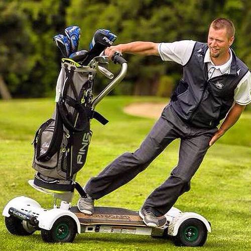 GolfBoard, A Billy Casper Golf Partner