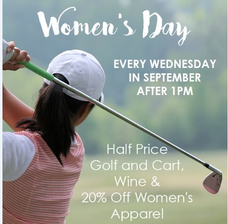 Meadowlark golf course - womens golf day