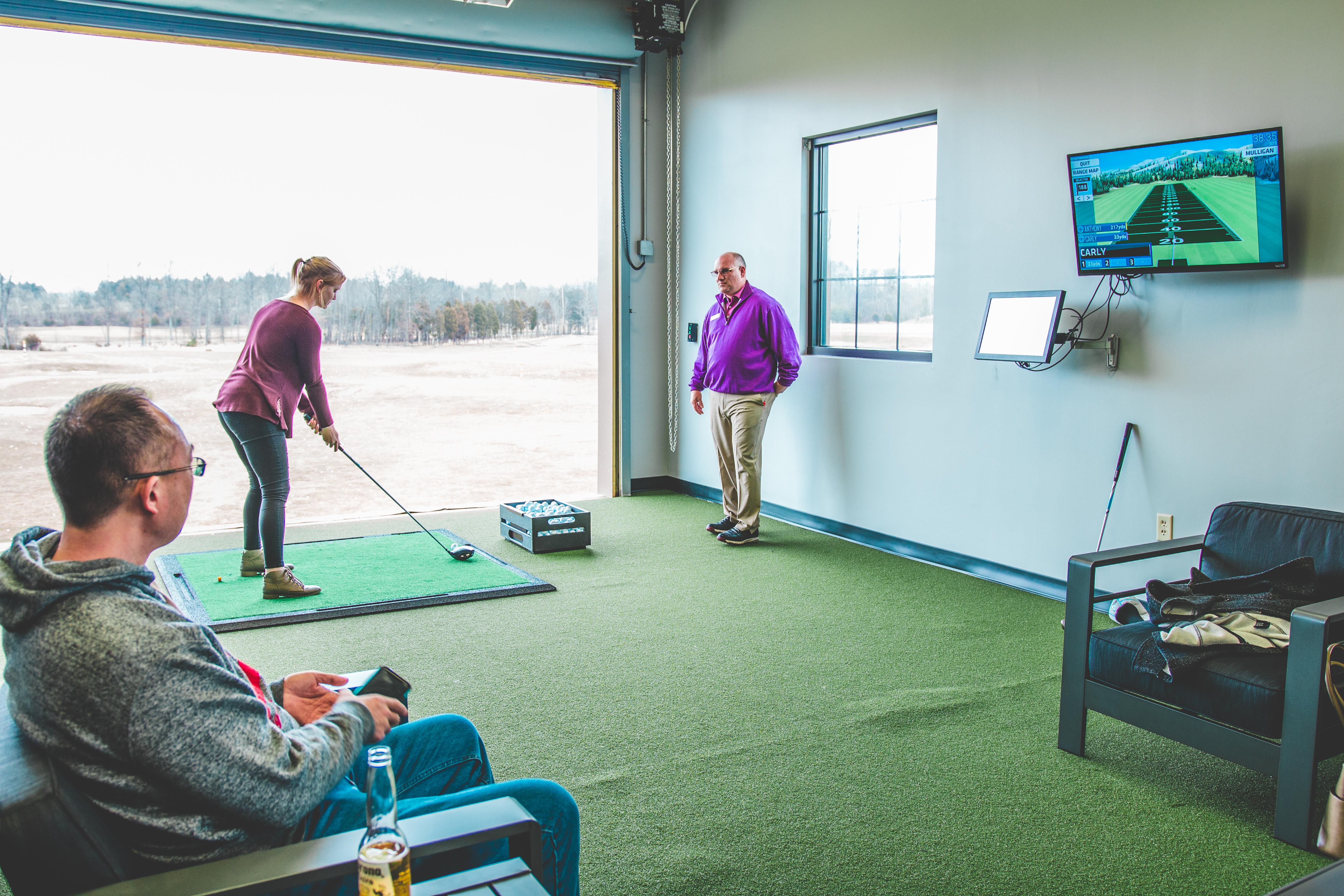 Launchbox Golf Indoor Bay