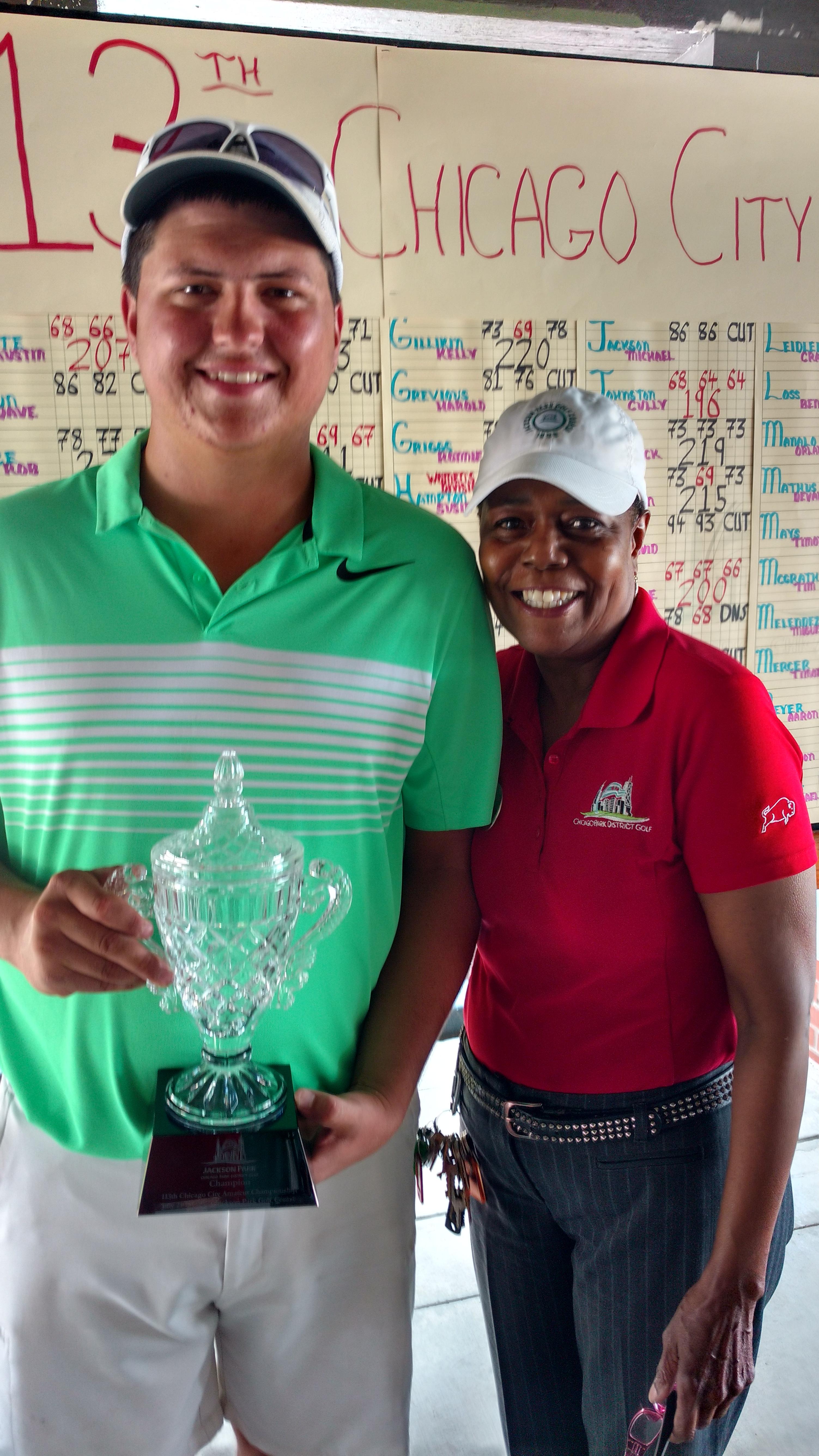 113th Chicago Amateur Winner Blaine Buente