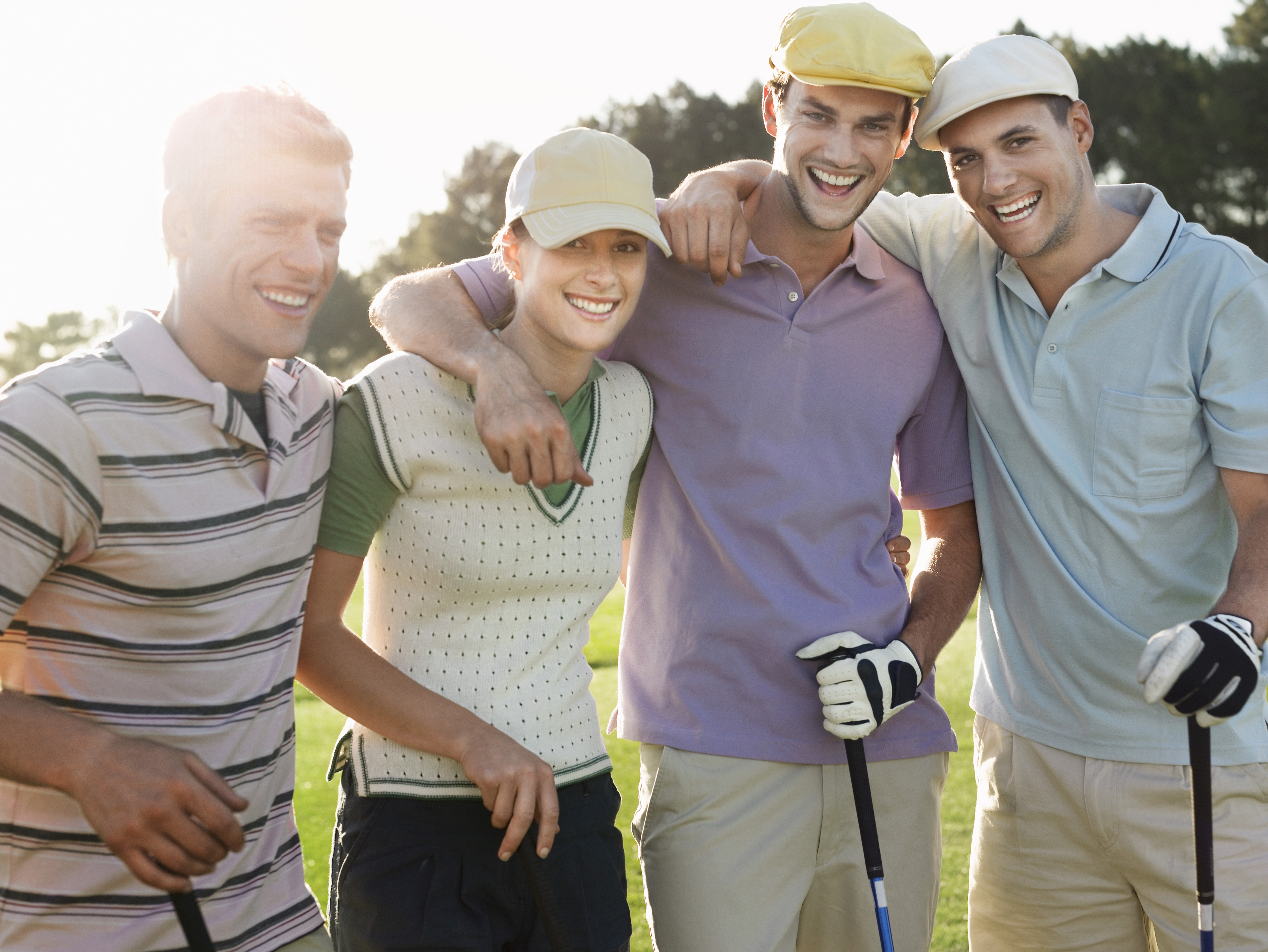 Leagues, Outings, Events, Group of Golfers - Men and Woman