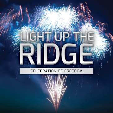 Light up the Ridge Celebration of Freedom at Sanctuary Ridge Golf Club in Clermont, FL