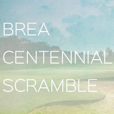 Brea Centennial Scramble
