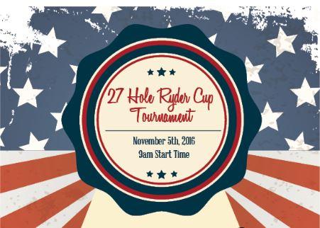 27 Cup Ryder Golf Tournament at Fernandina Beach Golf Club