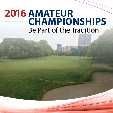 2016 Amateur Tournaments at Chicago Park District Golf Courses