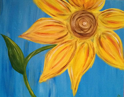 Wine & Canvas Painting Event at Orchard Valley