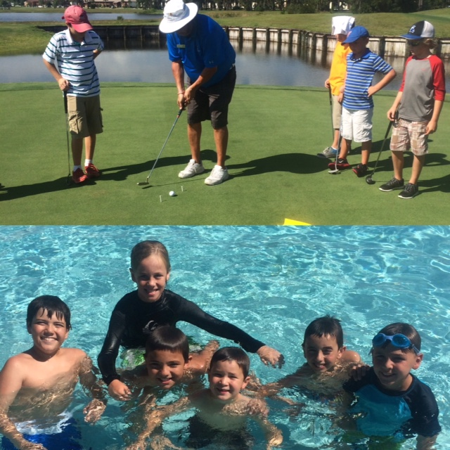 Junior Golf Camp 2015